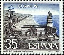 Faro de Calella, Barcelona