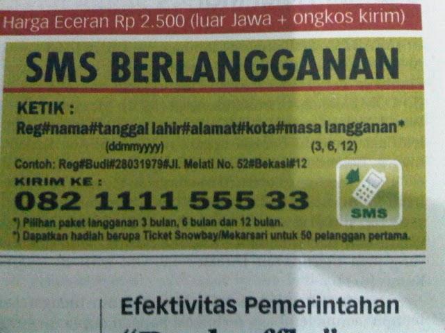 Selamat kepada Koran Jakarta