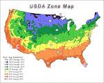 Sacramento, CA -- Hardiness Zone 9