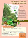Penanaman Tumbuhan Ubatan & Beraroma