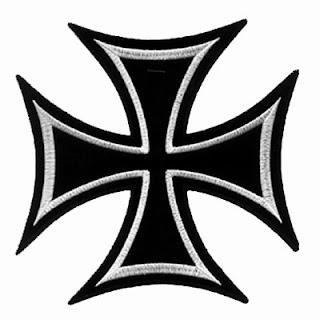 MAS SIMBOLOGIA MOTERA Parche+cruz+hierro