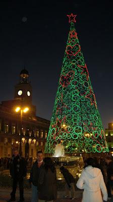 Árbol en Puerta del Sol