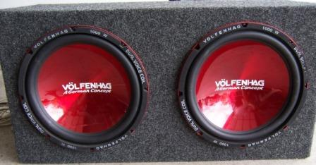 Amp for inch subs