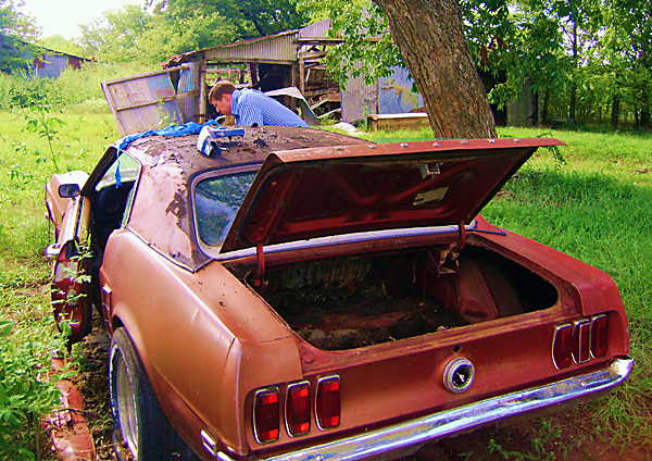 1969 Ford Mustang Barn Find 302 V8 4 Speed For Sale In Texas After 25 Years