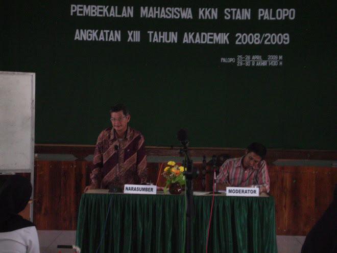 PEMBEKALAN MAHASISWA KKN TAHUN 2009