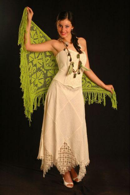 Vestidos tejidos a palillos - Imagui