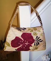 Cherryellie Cream & Pink Handbag