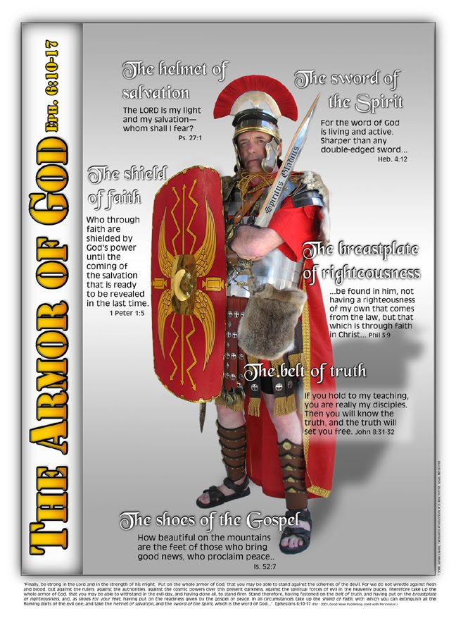 armor of god poster. armor of god poster. on the