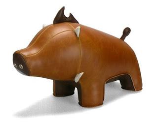 Babu the Boar Bookend