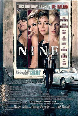 filme nine poster cartaz