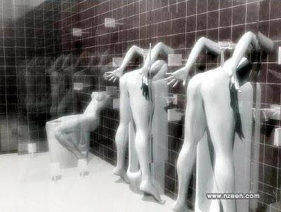 mictório banheiro estranho