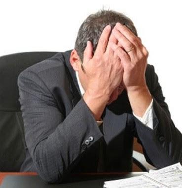 executivo estressado