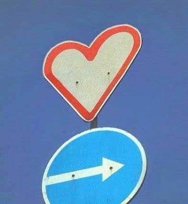 coração placa