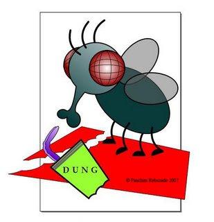 desenho mosca