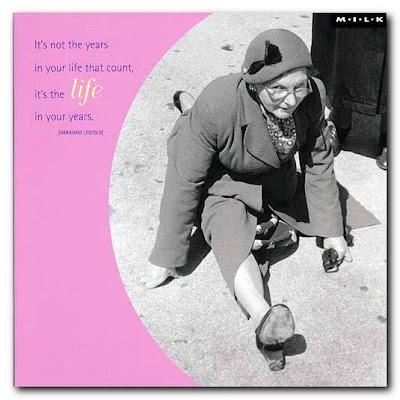 cartão motivacional anos de vida
