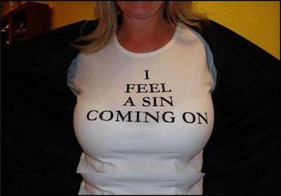 camiseta pecado