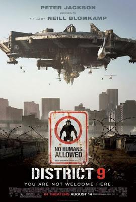 filme distrito 9 poster cartaz