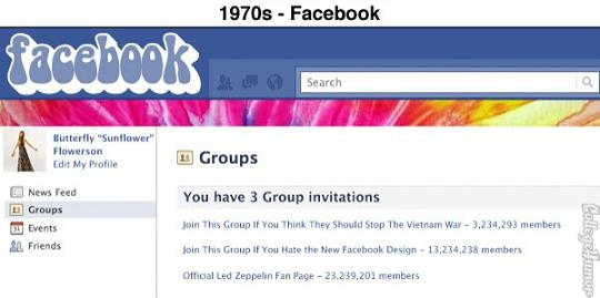 sites vintage facebook