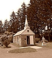 Our Lady of the Pines, smallest church in 48 states