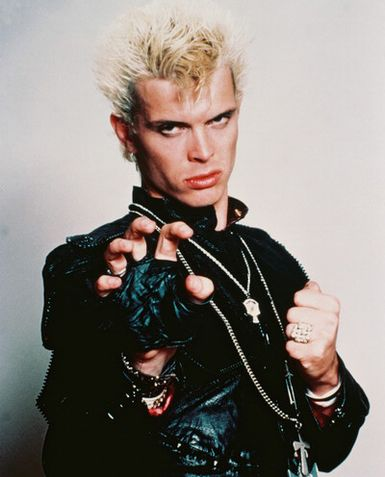 A Writer's Desk: With a Rebel Yell, Billy Idol Lands a ...