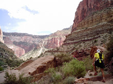 Paul leading the way on the North Kaibab Trail_The Grand Canyon