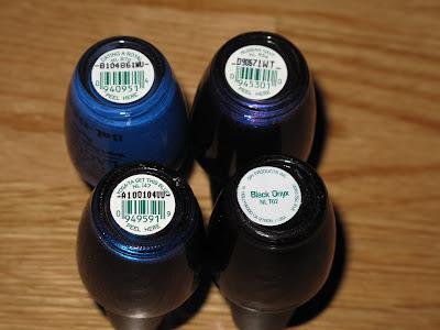 My OPI nail polish collection