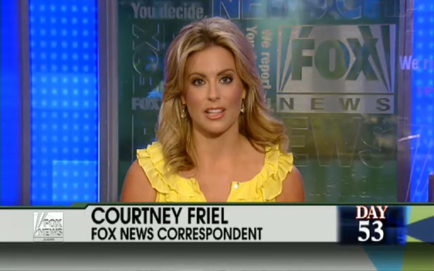 Courtney Friel and Alisyn Camerota Video @ Fox and Friends.