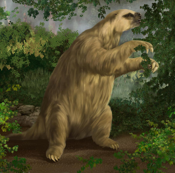 Follow The Piper Giant Ground Sloths