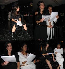 Morelli e Fernanda Sophia - Leitura Uroborus 2 - Satyros