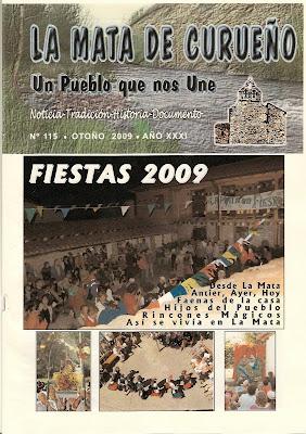 Boletin 115 - Portada - Otoño 2009 por La Mata de Curueño (León)