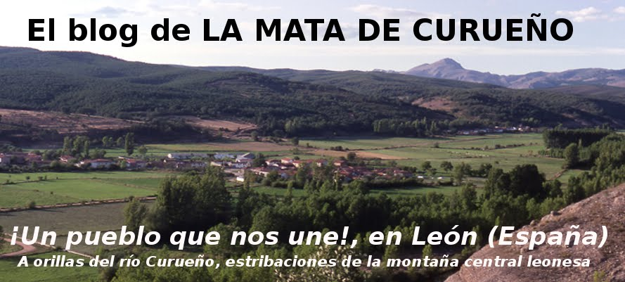El blog de LA MATA DE CURUEÑO (León)