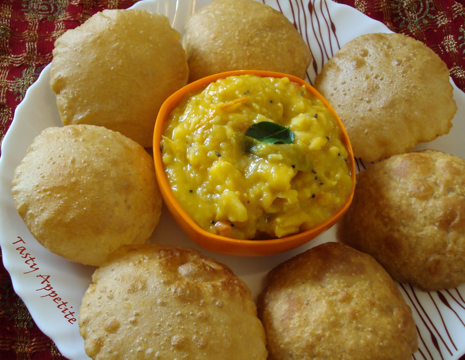Indian Food Poori Recipe