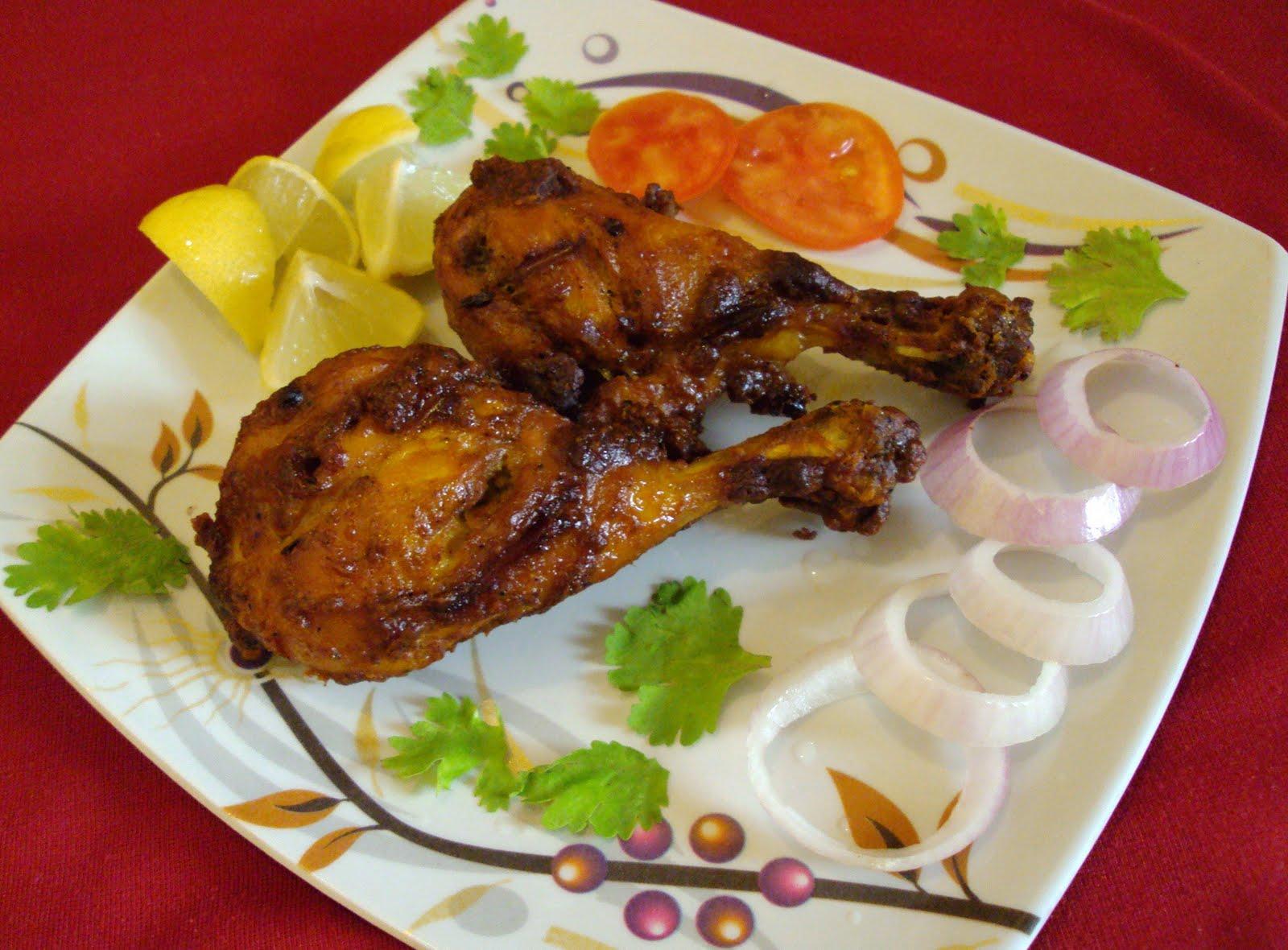Tandoori Chicken / Tandoori Murghi | Tasty Appetite