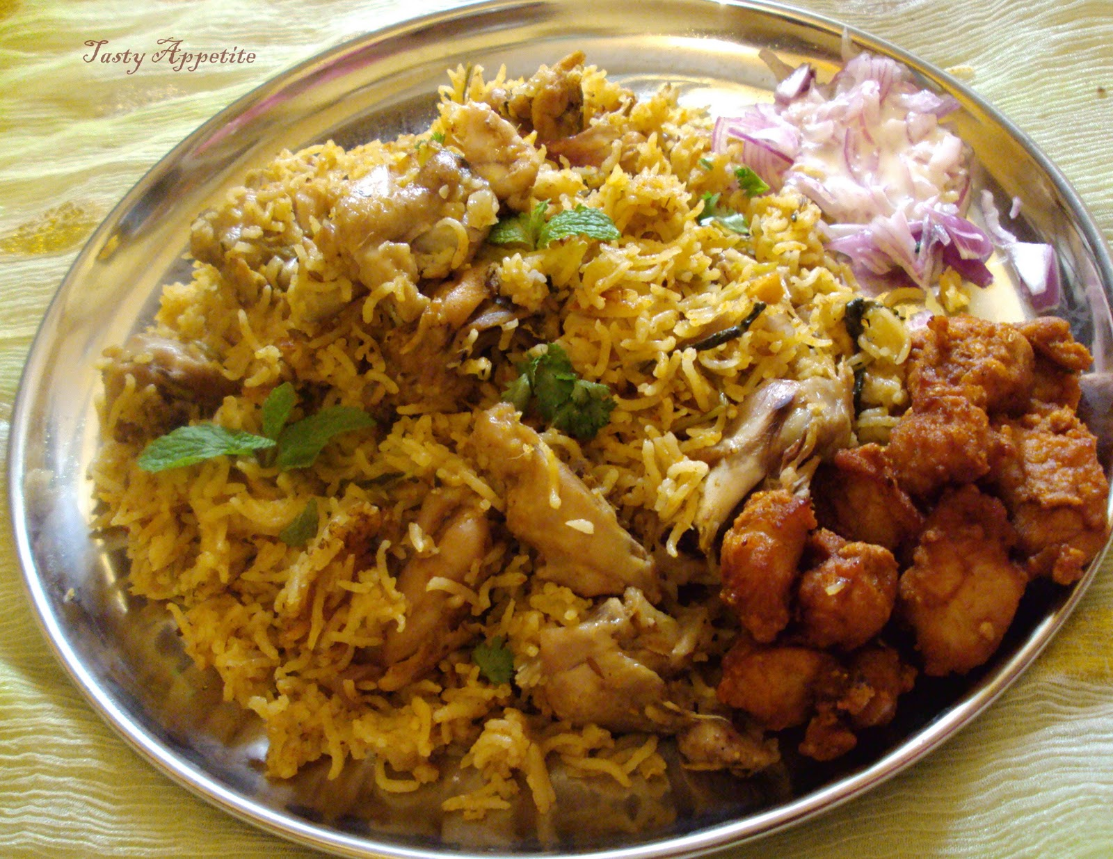 Chicken biryani recipe dishmaps for Chicken biryani at home