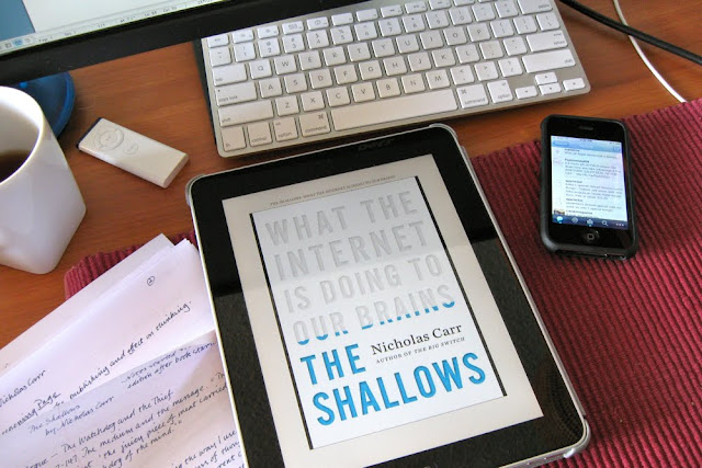 BOOK REVIEW! The Shallows by Nicholas Carr!