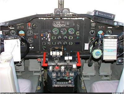 Cabina del Canadair cl215T