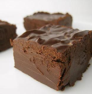 Lazy Chocolate Fudge