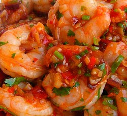 Spicy Saute Shrimp