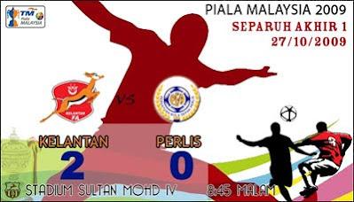 Selangkah Ke Final Piala Malaysia 2009
