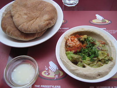 ish liebe dish. hummus dishes. i ordered