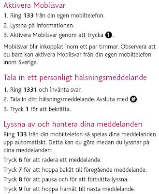 telia mobilsvar nummer