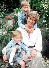 Printesa Diana & copii sai