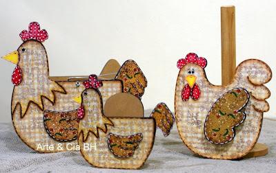 pintura country galinhas cozinha mdf