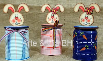 coelho country madeira pintura artesanato
