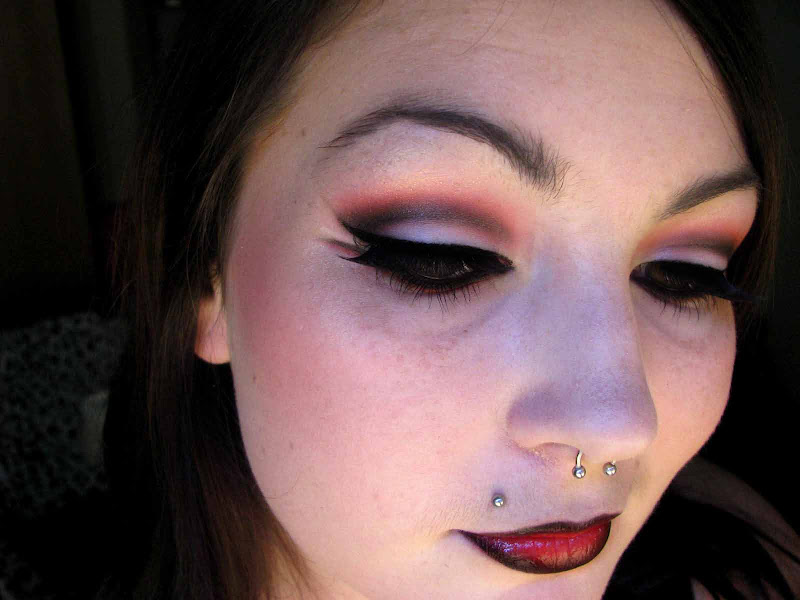 This was my entry to Sigma's Punk goes classic rock makeup contest on  title=
