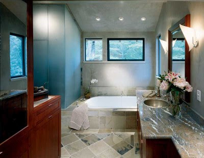 Elegant but Simple Bathroom