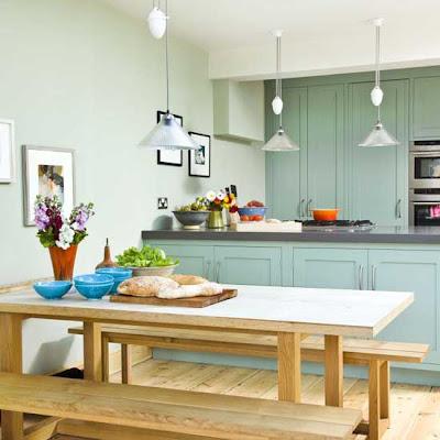 Minimalist kitchen-dinner room-Interior Design Room