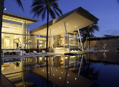 Villa design with best view