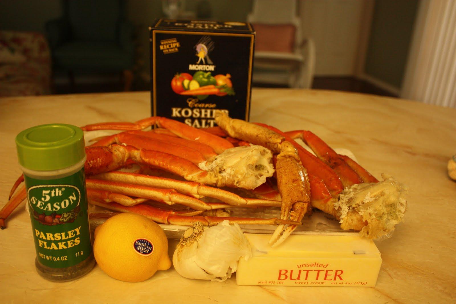 deeelish by mish eaaasy garlic butter crab legs