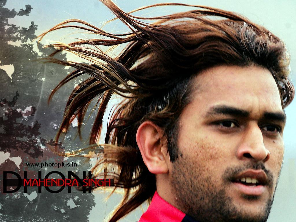 Dhoni Long Hair Style